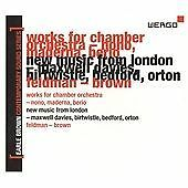 Earle Brown Life in Music Vol II 3 CD Box Wergo Nono Berio Bedford Feldman Tudor
