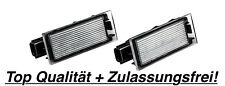 2X TOP LED Kennzeichenbeleuchtung Renault Megane IV 4 B9A/M 2.0 RS TCe 275 / N06