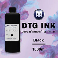 DTG Ink Black 1000ml Dupont Artistri Ink for Direct to Garment Printer BestPrice