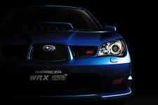 SUBARU IMPREZA WRX STI CAR POSTER PRINT 24x36 9 MIL PAPER