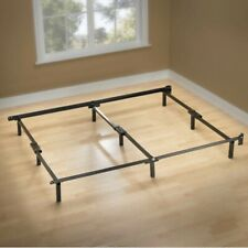 Zinus Compack Adjustable Steel Bed Frame for Spring & Mattress Set Twin to Queen