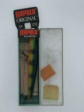Vintage Rapala Original Floating F 9 P perch Nib
