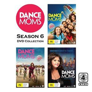 Dance Moms Season 6 (DVD, 9-Discs) NTSC Region 4 (Complete Season 6 Collection)