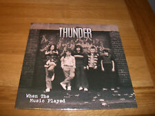 Thunder-when the music played.10""
