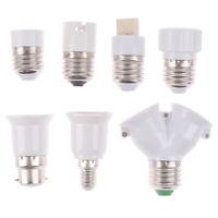 E27 GU10 E14 B22 E12 G9 Bulb Adapter Lamp Converter Holder Extender Light №r