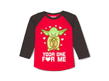 Toddler Boys' Star Wars Yoda One For Me Long Sleeve T-Shirt - 4T