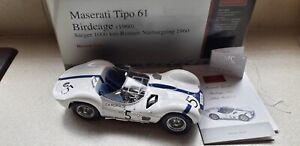 CMC 1:18 Scale Maserati Tipo 61 Birdcage (1960) M047