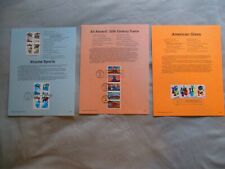 1999 - XTREME SPORTS, TRAINS, AMERICAN GLASS FDC First Day souvenir stamp sheet