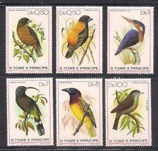 St. Thomas & P.  1979  Sc #541-46  Birds   MNH  (42885)