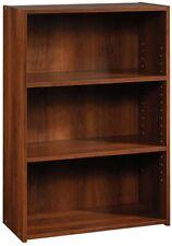 Sauder Beginnings 3-Shelf Bookcase, Brook Cherry finish 3 Shelf