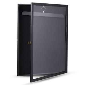 Black Jersey Display Case Basketball Baseball Football Hockey Soccer Shadowbox