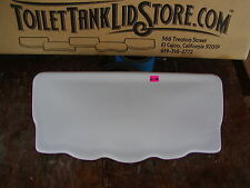 Toilet Tank Lid Unknown Brand 145 Dated 8/10/90 Thin profile 6D
