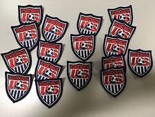 """Nike US soccer patch USA national team soccer patch 2.5"""" tall  (2 piece lot)"""
