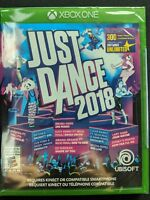 Just Dance 2018 Xbox One, Brand New Sealed, Same Day Shipping