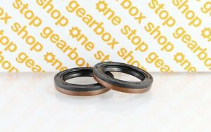 FORD 5 SPEED IB5 / BC GEARBOX DIFF DRIVESHAFT GENUINE OIL SEAL PAIR
