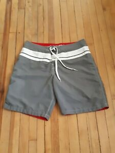 Gotcha Men's Trunk Short Size XL White/ gray