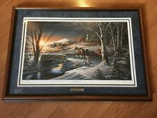 Almost Home Framed Limited Edition Print # 1503029500 by Terry Redlin