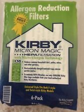 Kirby Micron Magic Hepa Filter Vacuum Cleaner Bags - 6 Pack
