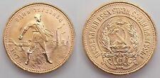 Russland Sowjetunion - 10 Rubel - GOLD Münze Tscherwonetz 1975 - Goldmünze