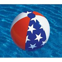 "Swimline Americana 90016 22"" Inflatable Beach Ball Pool Toy American Design"