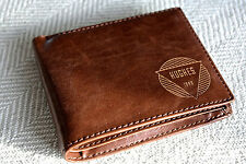 Personalized Men's Wallet - Leather - Custom Engraved