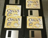 Directory Opus 5, 4 Floppy Disk Set With extra magellan disks Amiga Commodore 64