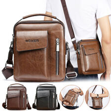 2020 New Men's Leather Handbag Shoulder Bag Crossbody Messenger Business Bag