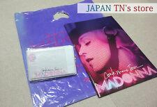 Japan 『Madonna 2006 Confessions Tour Concert Pamphlet&Plastic bag&Ticket holder�
