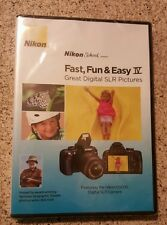 Nikon School DVD Fast Fun & Easy IV Great Digital SLR Pictures for D3000 Camera
