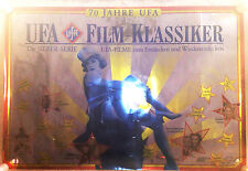 ufa poster 117x79 Sonderdruck Silber Messeplakat film klassiker 70 Jahre Rarität