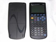 TI 89 Black Graphing Calculator TI89 w/ Batteries & Cover graph calc WORKS GREAT