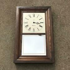 Vintage Seth Thomas 2727-001 Looking Glass Mirror Quartz Wall Clock