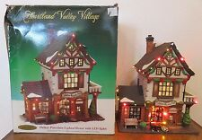 Heartland Valley Village - Callahan Bicycle Shop - Porcelain Lighted House