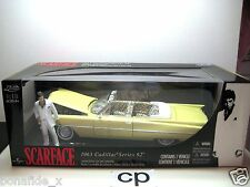 LIMITED EDITION SCARFACE 1963 CADILLAC SERIES 62 1:18 CARS JADA TOYS