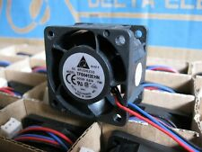 Delta TFB0412EHN-F00 40mm x 28mm 3pin Hi-speed 26CFM 12VDC 1U Server/CaseFan NEW
