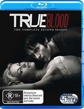 True Blood : Season 2 (Blu-ray, 2010, 5-Disc Set)