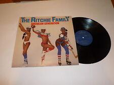 THE RITCHIE FAMILY - American Generation  1979 UK 3-track Mercury label vinyl LP