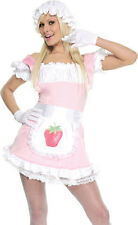 SS4U Strawberry Tart Shortcake Costume Dress Bonnet Gloves S/M