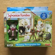 Sylvanian Families Retired Flair 4777 Wedding Photographer Set RARE BNIB
