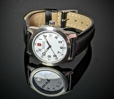 Victorinox women leather Wrist watch GREAT Fresh Battery