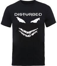 Disturbed 'aterrador cara' T-Shirt-Nuevo Y Oficial!