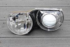 BMW E46 Driver Side Xenon Headlight Proector Bulb Socket Reflector Trim
