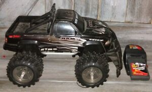 New Bright Black Dodge Ram Remote controlled truck (missing remote)