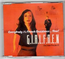 (GQ787) G.I.R.L.F.R.E.N., Dyan Valdes & Eddie Angus - 2010 DJ CD