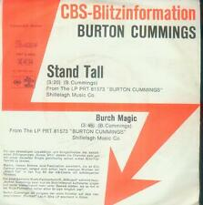 "7"" Burton Cummings/Stand Tall (CBS Blitzinformation) D"