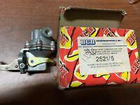 pompa alimentazione alfa b33 turbo diesel 1800 codice 2521 5