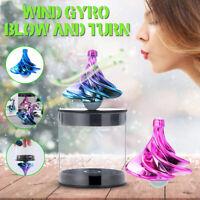 Wind Fidget Spinning Finger Gyroscope Game Wind Gyro Toy Creative Toy Xmas Gift