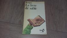LE LIVRE DE SABLE / JORGE LUIS BORGES