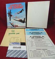 2 Apple: computer Air Combat-SSI 1980 con imballo originale