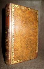 FLEURS IDYLLES Constant Dubos Poesie Poetry gravure Reliure cuir 2ème Ed. 1817 !